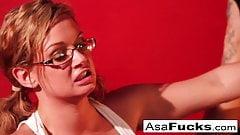 Asa Akira Four girl orgy