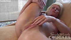 Mandy Foxx Mature Fitness Masturbation