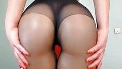 Amateur Hot Wet Ass In Nylon #MrBrain1988