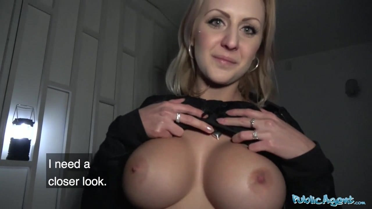 Huge Fake Silicone Tits