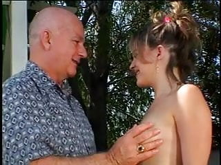 Naked mature male videos Mature male gets cock sucked by blonde slut outdoors