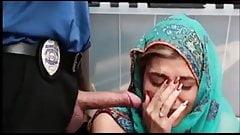 Hot arabian girl fucked in office