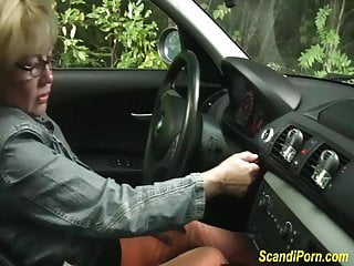 Scandinavian girls fucking Scandinavian mom brutal fist fucked in public