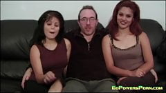 Ed Powers Gets a Blowjob From a Cute Teen