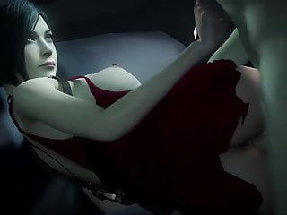 Amy wong fucked - Slutty ada wong gets fucked in her red dress