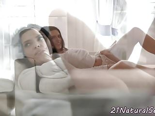Naked on all fours Bigtits model fucked on all fours