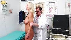 Hot girl Luci Angel on her Gyno Exam