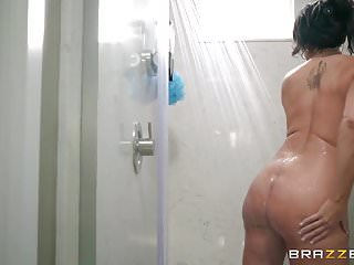 Ronald reagans adult life Brazzers - step son catches reagan foxx in the shower