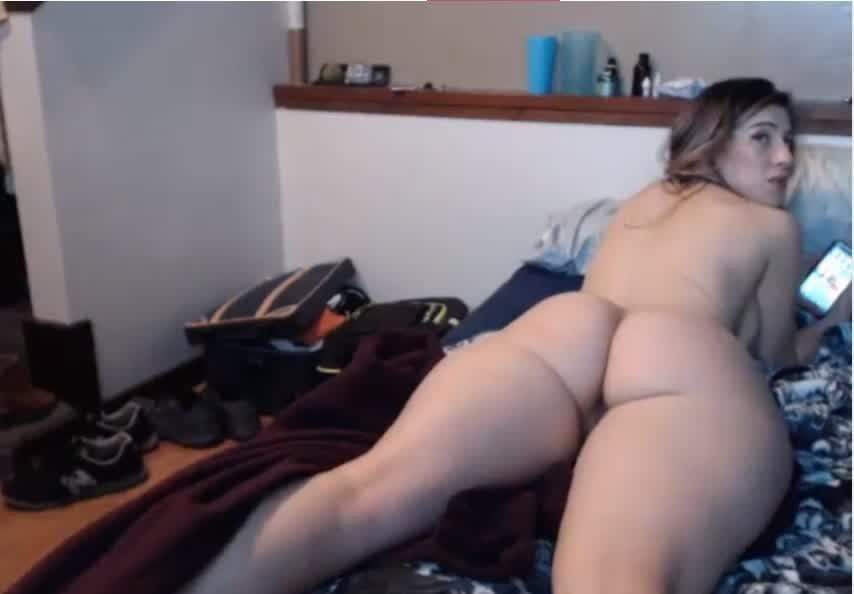 White Girl Fat Ass Booty