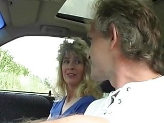 Gum job sex - Blonde mature takes cumshot with gum in your mouth