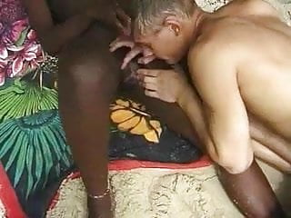 Army guy cock - African babe beach hardcore with army guy