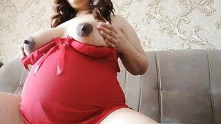 Asian pregnant wife mastrubate