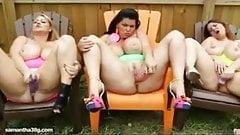 Samantha 38G Lexxxi Lockhart Angelina Castro Shake Tits Ass
