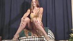 Amateur wife in pantyhose posing