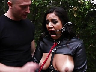 Sex and first time and average age - Monica sages first time in bondage on camera and first dp e