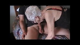 young guy fucks an old whore