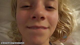 Stunning blonde Riley Star getting doggy fuck ATKGirlfriends