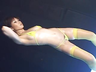 Asian bikini girl dance High grade dance - natsumi aizawa