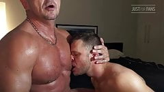 Daddy With Thick Dick Fucks Hot Stud