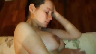 Painful anal sex pain in her eyes