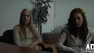 AD4X Video - Audition des soeurs Lane trailer HD - Porno Qc