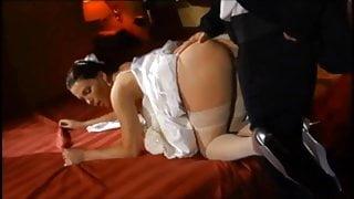 Sexy Jessica Fiorentino Anal In White Stockings