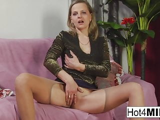 Blonde milf sucks trainers cock - Busty blonde milf sucks his cock and tosses his salad
