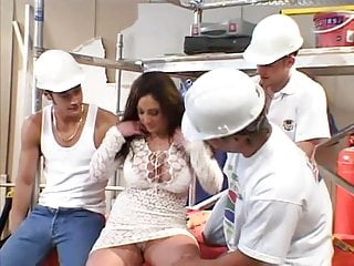 Halle barry breasts Miss barry go construction works