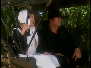Vintage carriage blanket - Busty amish blond gets hardcore fucking in carriage