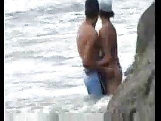 Voyeur beach strand spanner - Am strand