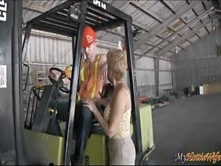 Girl gives guy a blow job videos Tracy licks gives young guy a blow job on a tractor