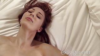 Big Tit Redhead Lactating Young StepMom Orgasms in Porn Debut