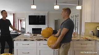 Are your eally jerking him off in a pumpkin?