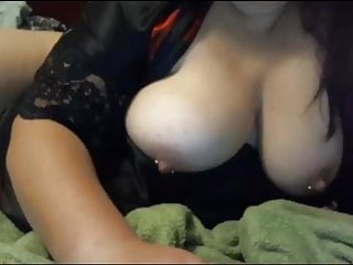 Dildo huge squirt video - Hot chubby girl with huge tits masturbates and squirts