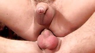 3 twinks bareback