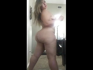 Bbw naked video - Sexy bbw naked twerk