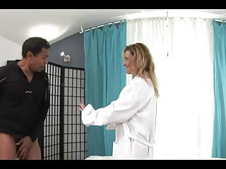 Medical xxx Urologist visit a big black cock