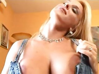 Tea bag milf Holly halston double air bags