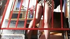 Pantyhose Upskirt of office girl