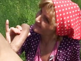 Huge cock granny anal - Hungarian granny suck and fucked by huge cock part1