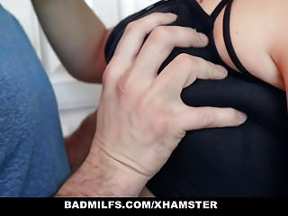 Redtube milf and daughter - Badmilfs - busty stepmom and daughter share huge cock