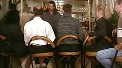 Group sex at the bar with daddies