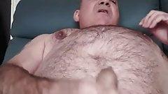 Nipple play and huge spurt on cam