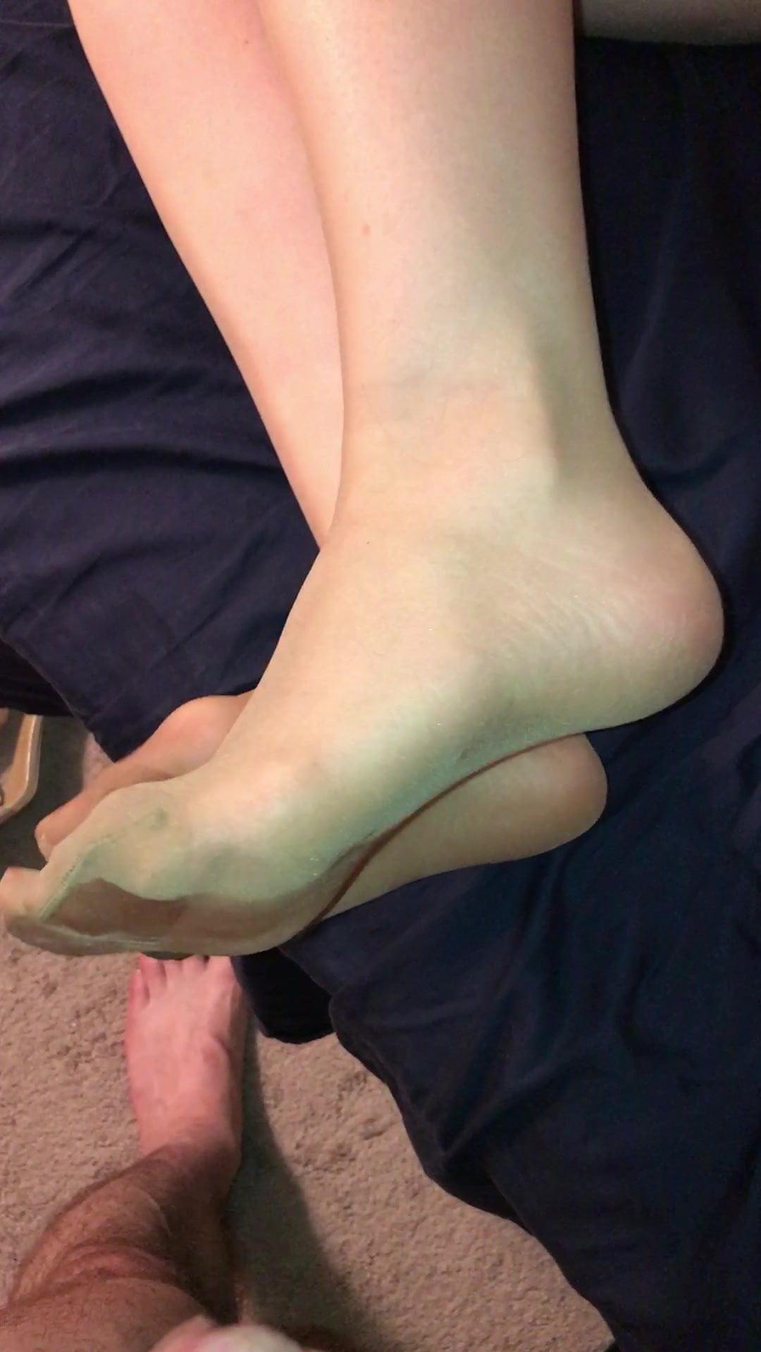 White Stocking Feet Worship