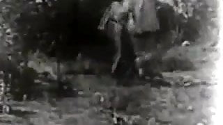 Shooting a Hardcore Sex Movie (1930s Vintage)