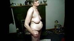 granny filmed nude