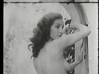 Reis vintage pin Unknown brunette pin-up at the hacienda