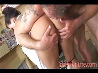 Kendra secrets footjob - Sexy milf kendra secrets gets ass fucked