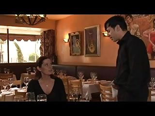 Milf seducing young Mature hot mom seduced by young waiter