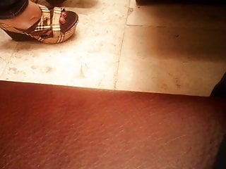 Heels fetish movie - Candid feet heels fetish